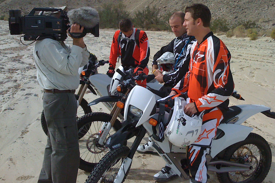 Filming Ride to Adventure in California
